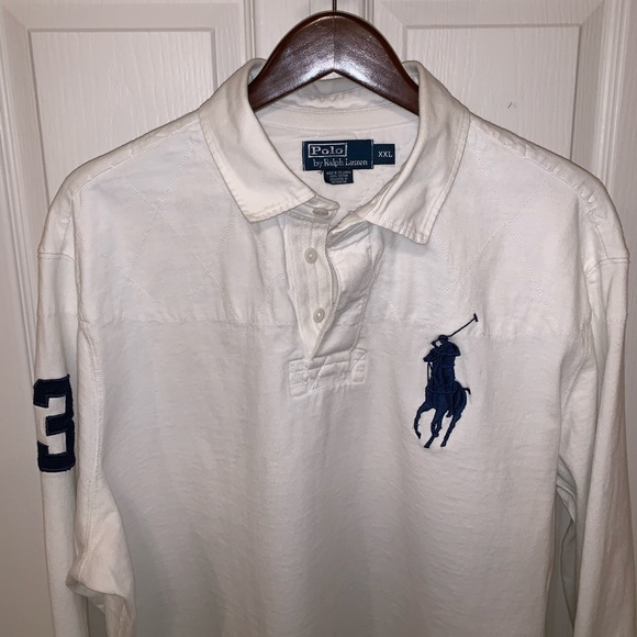 aa27078158a Polo by Ralph Lauren Shirts | Polo Ralph Lauren White Big Pony Rugby ...